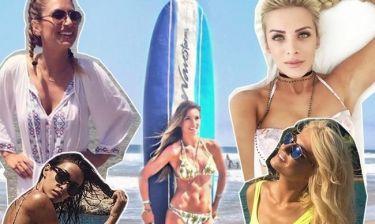 Μαλλιά στην παραλία: Ποια χτενίσματα επιλέγουν οι διάσημες Ελληνίδες;
