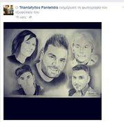 Ανατριχίλα!Το σκίτσο με την οικογένεια Παντελίδη που κάνει το γύρο του διαδικτύου