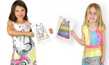 Αφήστε την κόρη σας να σχεδιάσει μόνη της το φουστάνι που θα φορέσει (εικόνες)