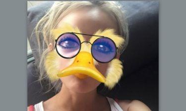 Αυτό είναι duck face