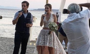 Παντρεύτηκαν Ούστα-Σαρακατσάνης! Δείτε φωτογραφίες από το γαμήλιο πάρτι