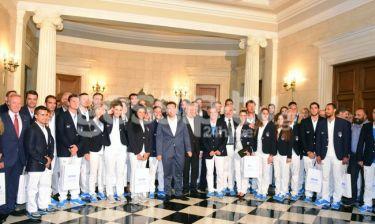 Στο Μέγαρο Μαξίμου η Ελληνική Ολυμπιακή αποστολή