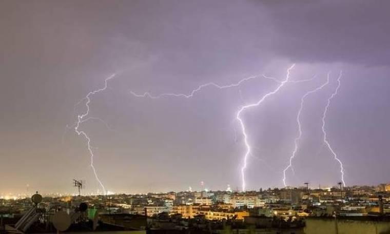 Προσοχή! Νέο κύμα κακοκαιρίας με ισχυρές καταιγίδες - Δείτε που θα σημειωθούν τα φαινόμενα (pics)