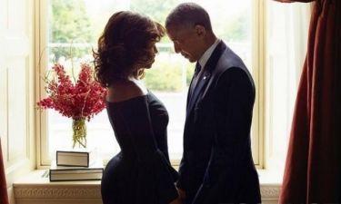 Η τρυφερή φωτογραφία του ζεύγους Obama