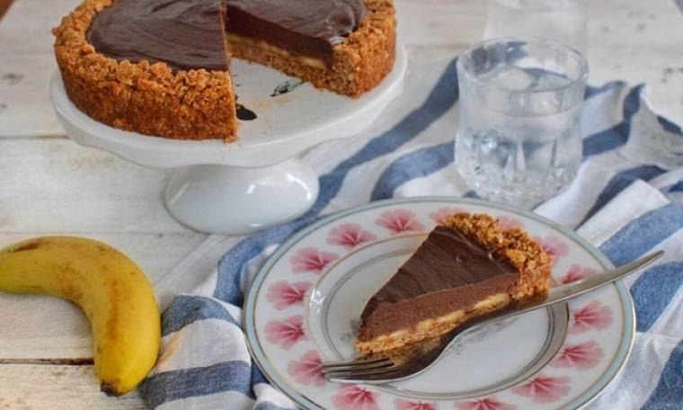 H συνταγή του Σαββατοκύριακου: Τάρτα σοκολάτα με βάση από δημητριακά