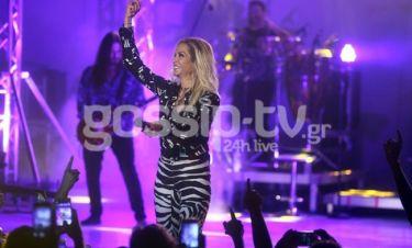 Άννα Βίσση: Πιο λαμπερή από ποτέ στη συναυλία της! (φωτό)
