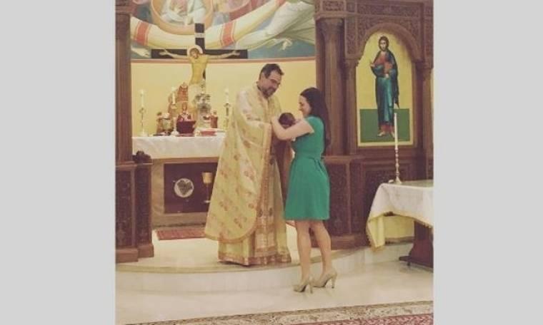 Καλομοίρα: H μικρή της σαράντισε και την πήγε στην εκκλησία να πάρει την ευχή (φωτό)