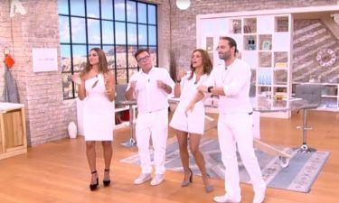 Happy Day: Ντύθηκαν στα λευκά και δηλώνουν για το κλείσιμο του Alpha:«Επιλέγουμε το άσπρο στο μαύρο»
