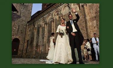 Χανδρής-Φόρτε: Ο παραμυθένιος γάμος τους στην Τοσκάνη