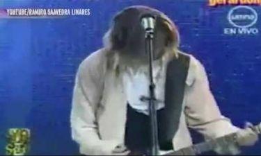 Πανικός στο διαδίκτυο: Ο Kurt Cobain είναι ζωντανός και τραγούδησε live; (video)