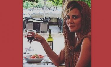 Δήμητρα Ματσούκα: Τα πίνει... λίγο πριν την τελευταία της παράσταση