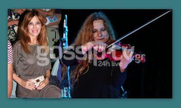 Η Χατζηβασιλείου στην συναυλία της Ρεμπούτσικα