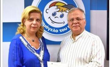 Η Κλέλια Χατζηιωάννου πλήρωσε τον ΕΝΦΙΑ του «Χαμόγελου του Παιδιού»