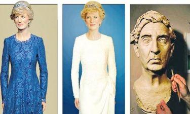 Αλλαγή φορέματος στο κέρινο ομοίωμα της πριγκίπισσας Νταϊάνα στην Καβάλα