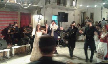Φωτογραφίες από το γαμήλιο γλέντι της Μαρίας Τζομπανάκη στην Κρήτη!