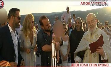 Σκορδά-Λιάγκας: Στη βάπτιση της κόρης του Κωνσταντινίδη και οι πρώτες δηλώσεις για το νέο συνεργάτη
