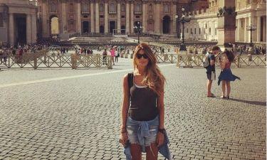 Ανθή Σαλαγκούδη: Το ταξίδι της στην Ρώμη