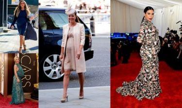 Διάσημες μαμάδες που δέχτηκαν κριτική για το μέγεθος της κοιλιάς τους! (εικόνες)