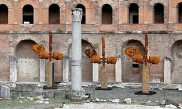 Τα άλογα που κατέλαβαν τη ρωμαϊκή αγορά