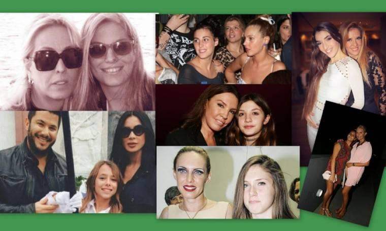 Κόρες, διάσημες και ωραίες όπως οι μαμάδες τους