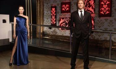 Jolie-Pitt: Τους χώρισαν και από το Madamme Tussauds!