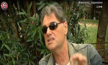 Έξαλλος ο Σταμούλης: «Μίλησα για τον χωρισμό μου και κάποιοι έλεγαν καλά του έκανε»