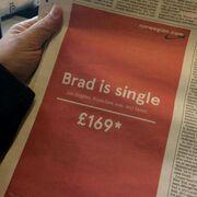 Η διαφήμιση που θα συζητηθεί: «Ο Pitt είναι single»