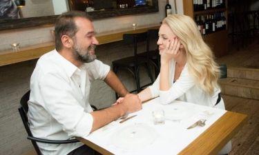 Καζάκος-Μαρτζούκου: Ρομαντικό δείπνο για την 7η επέτειο γάμου τους! (Φωτό)