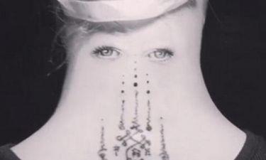 Μας σόκαρε το τατουάζ της…