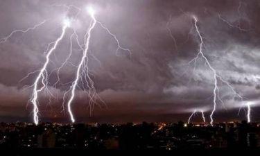 ΠΡΟΣΟΧΗ: Η ΕΜΥ προειδοποιεί -Έρχονται ισχυρές καταιγίδες, χαλάζι και θυελλώδεις άνεμοι