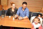 Χειμωνέτος: Οικογενειακή έξοδος μετά την βάφτιση