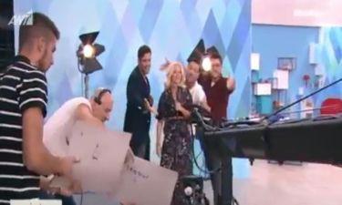 Η κάμερα του gossip-tv στα παρασκήνια της πρεμιέρας της εκπομπής «ΣουΚου»
