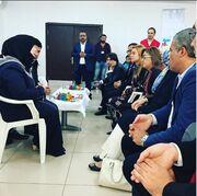 H Lohan στο πλευρό των προσφύγων