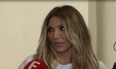 Η ενόχληση της Ηλιάδη on camera όταν ρωτήθηκε για τα δημοσιεύματα περί χωρισμού με τον Γκέντσογλου
