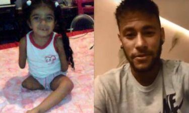 Η 6χρονη χωρίς χέρια και χωρίς το δεξί της πόδι που συγκίνησε τον Neymar