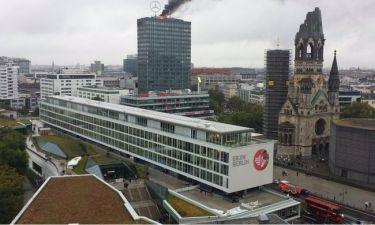 Μεγάλη φωτιά στο Europa Center του Βερολίνου (pics+vid)