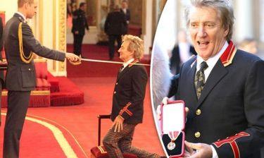 O Rod Stewart έγινε… ιππότης!