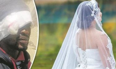Παρθένα νύφη σοκαρίστηκε από το τρομακτικό πέος του άνδρα της και δείτε πώς τον έκανε! (pic)
