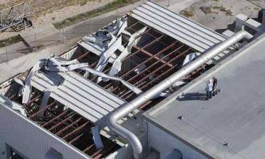 Μεγάλες ζημιές στο κτίριο της NASA προκάλεσε ο τυφώνας Μάθιου