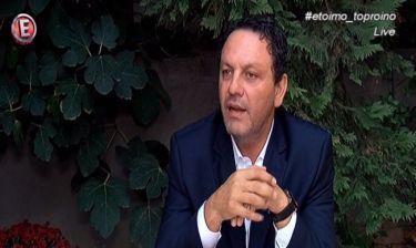 Ο Στάθης Αγγελόπουλος αποκαλύπτει την πραγματική αιτία θανάτου του πατέρα του