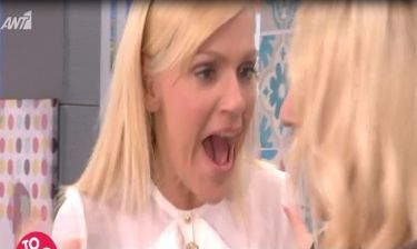 Ούρλιαζε η Σκορδά - Τι έκανε η Σάσα Σταμάτη on air;