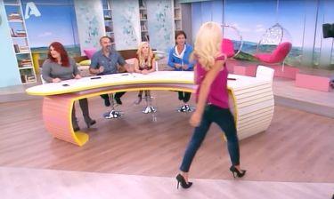 Η Ελένη στα πιο αδύνατά της με τζιν παντελόνι!