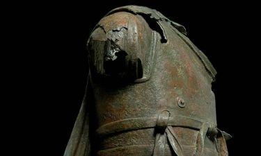 Χάλκινο άγαλμα από την Κάλυμνο στο Μουσείο Ακρόπολης