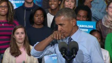 Η απίθανη αντίδραση του Obama όταν τον αποκάλεσαν… δαίμονα
