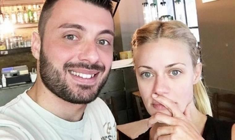 Ζέτα Μακρυπούλια: Selfie με τον αδερφό της