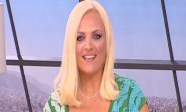 Η αφιέρωση της Λαμπίρη στον άντρα της on air