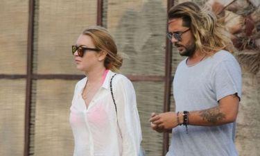Η Lindsay Lohan στα εγκαίνια του club που άνοιξε χθες στην Ιερά Οδό!