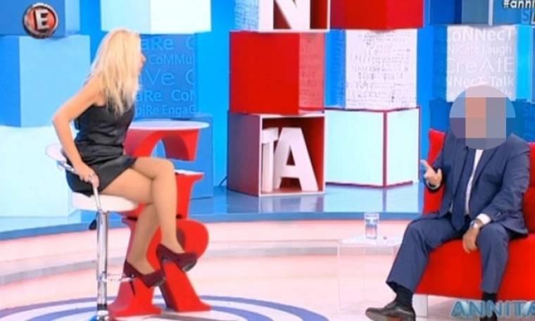 Ποιος γνωστός κύριος είπε on air στην Πάνια: «Αυτό που κάνεις με το μαλλί είναι πολύ ερεθιστικό»