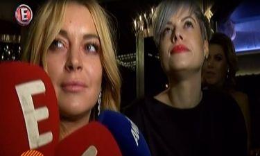 Τι ρώτησε ο ρεπόρτερ και σκιάχτηκε η Lindsay Lohan;