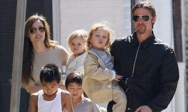 Jolie-Pitt: Φοβούνται ότι θα απαγάγουν τα παιδιά τους!